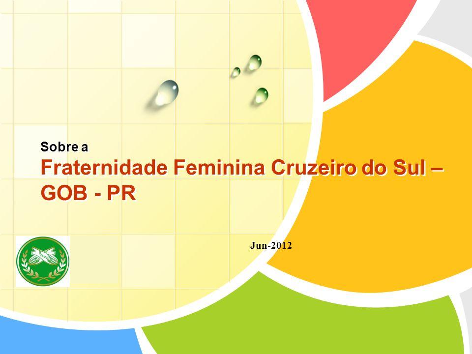 L/O/G/O Sobre a Fraternidade Feminina Cruzeiro do Sul – GOB - PR Jun-2012