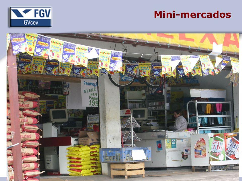 19 Mini-mercados