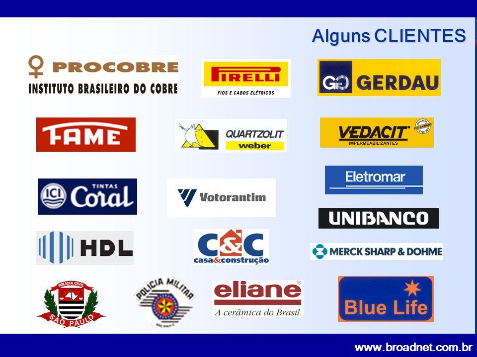 www.broadnet.com.br Alguns CLIENTES