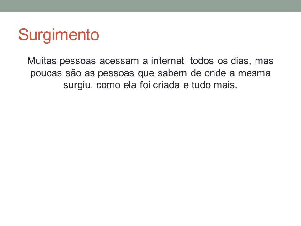 Navegar pela internet Cada página na Internet possui seu próprio endereço, também chamado de URL (Uniform Resource Locator).