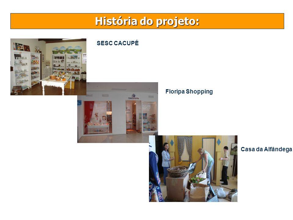 História do projeto: Casa da Alfândega Floripa Shopping SESC CACUPÉ