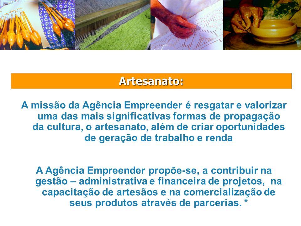 Experiência da Agência Empreender no Artesanato: