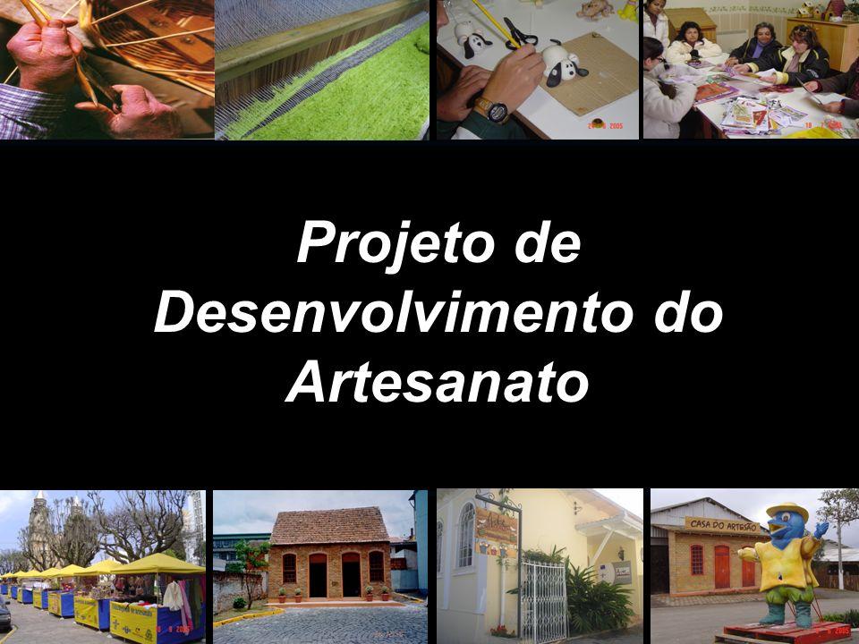Projeto de Desenvolvimento do Artesanato