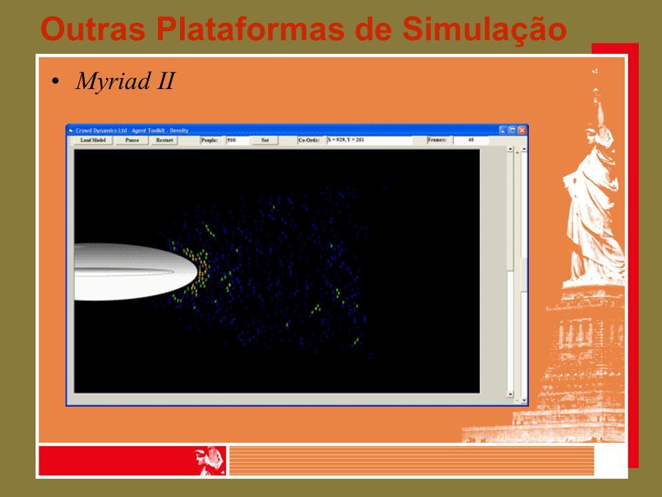 Outras Plataformas de Simulação Myriad II
