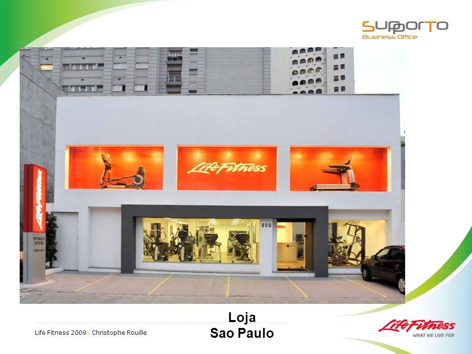 Life Fitness 2009 | Christophe Rouille Loja Sao Paulo