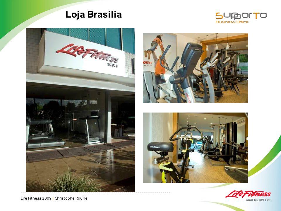 Life Fitness 2009 | Christophe Rouille Loja Brasilia