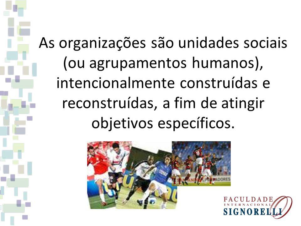 Dentro desse enfoque social, a organização pode ser visualizada sob dois aspectos: Organização Formal Organização Informal