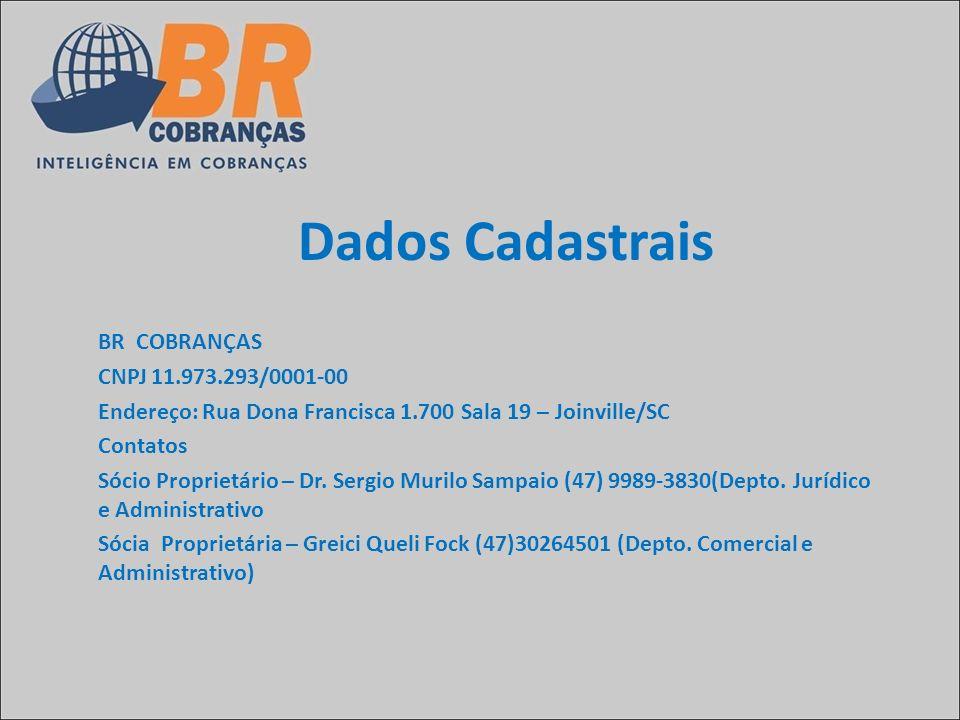 CNPJ 11.973.293/0001-00 Endereço: Rua Dona Francisca 1.700 Sala 19 – Joinville/SC Contatos Sócio Proprietário – Dr. Sergio Murilo Sampaio (47) 9989-38