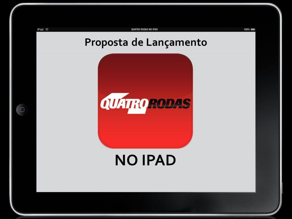 NO IPAD Proposta de Lançamento