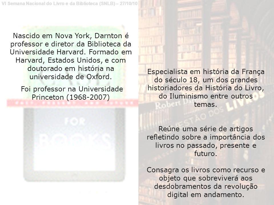 De repórter do New York Times até a direção de uma das bibliotecas mais importantes do mundo.