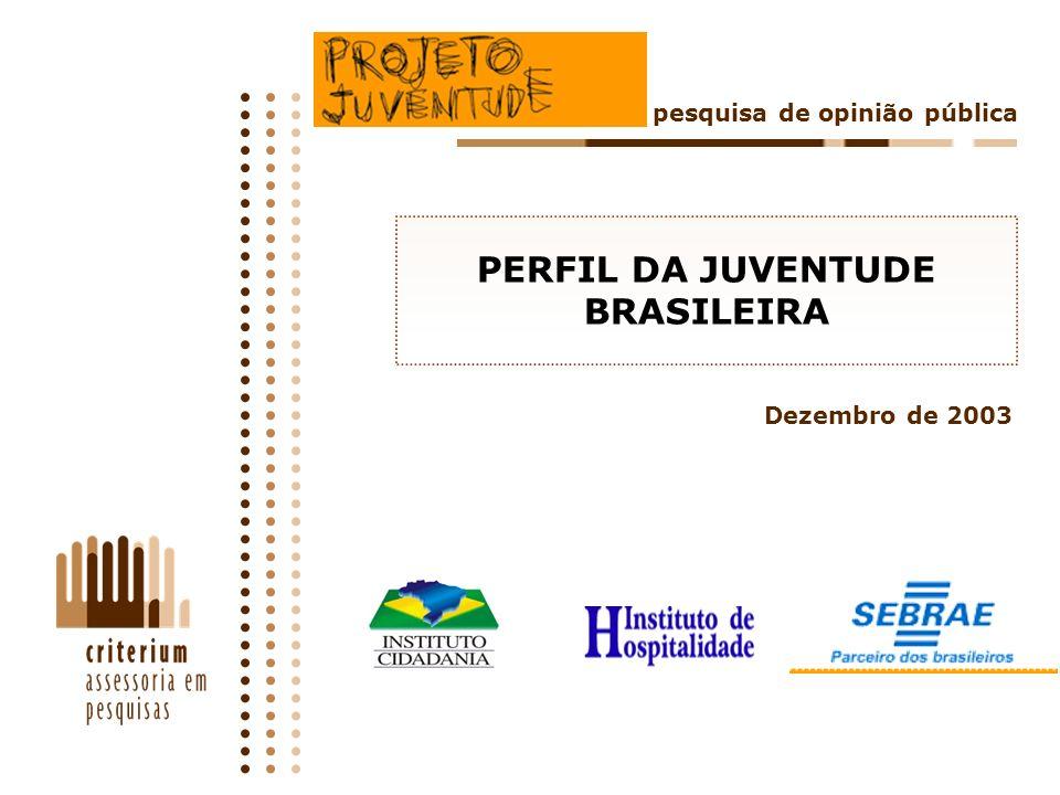 92 SUMÁRIO CONCLUSIVO O trabalho remunerado, e sua falta, ocupam hoje lugar de relevo no imaginário da juventude: três em cada quatro jovens brasileiros estão trabalhando ou tentando trabalhar.