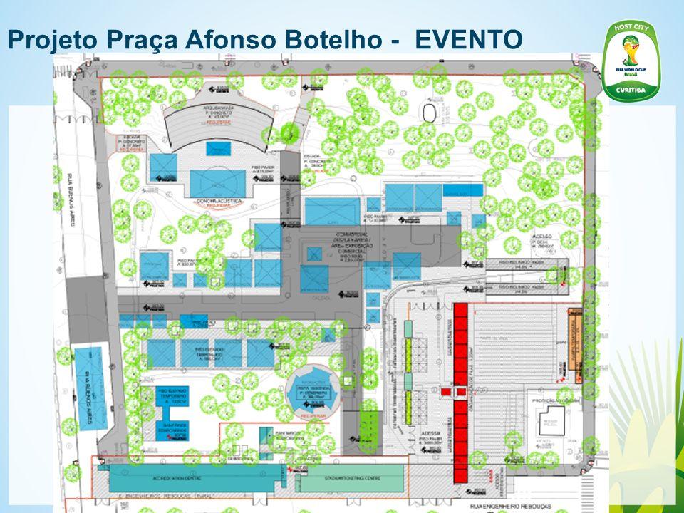 Projeto Praça Afonso Botelho - EVENTO