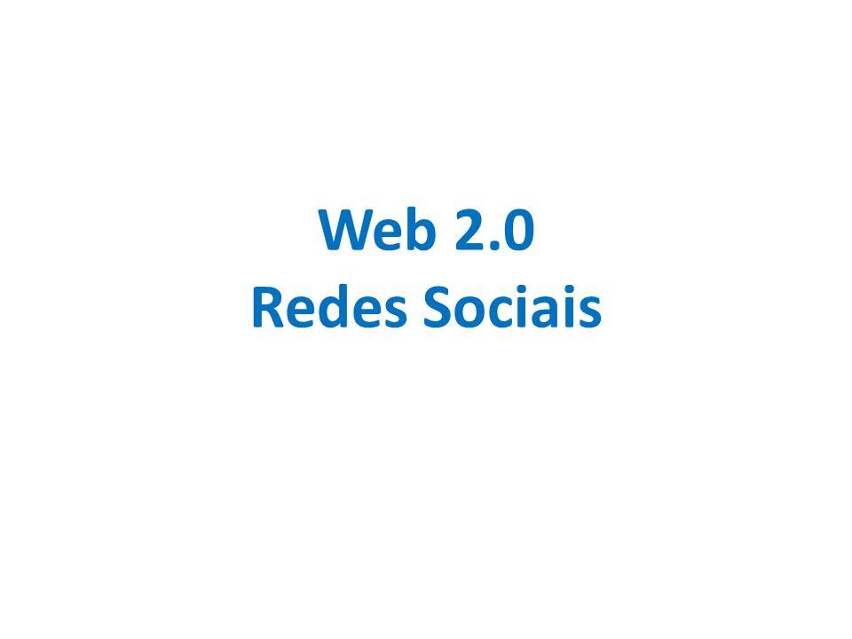 Web 2.0 Redes Sociais