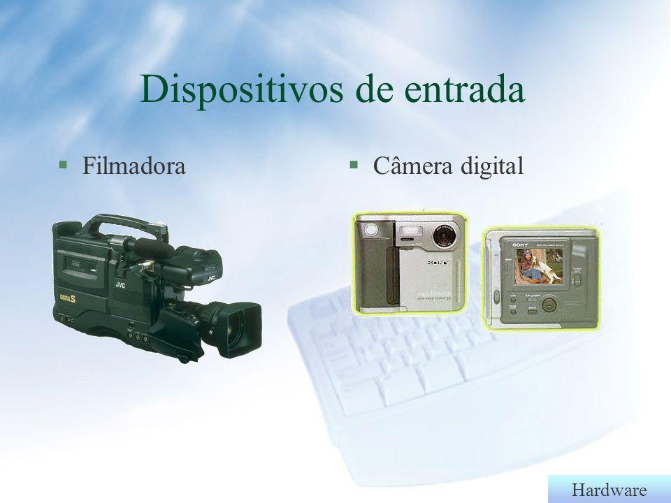 Hardware §Joystick§Ponto eletrônico Dispositivos de entrada