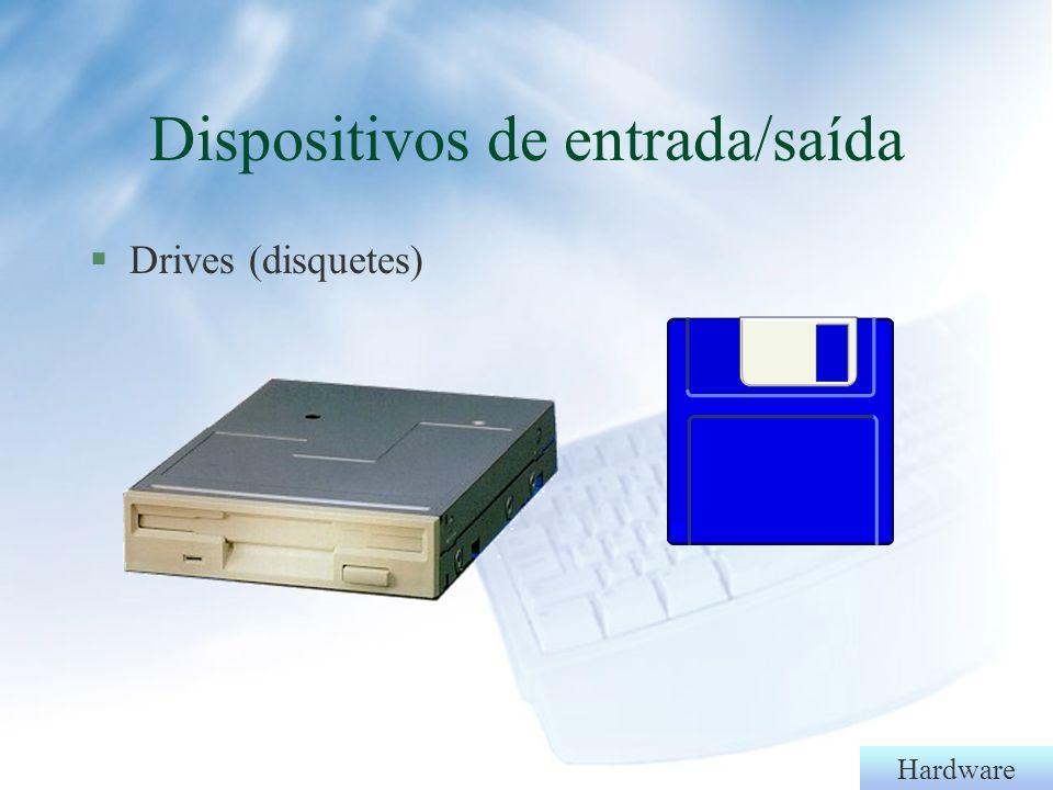 Hardware §Canhão, tv-coder, data-show Dispositivos de saída