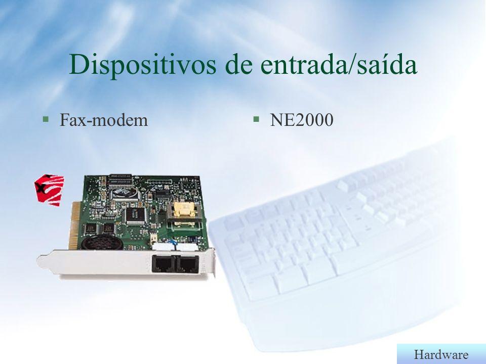 Hardware §Zip-drive Dispositivos de entrada/saída