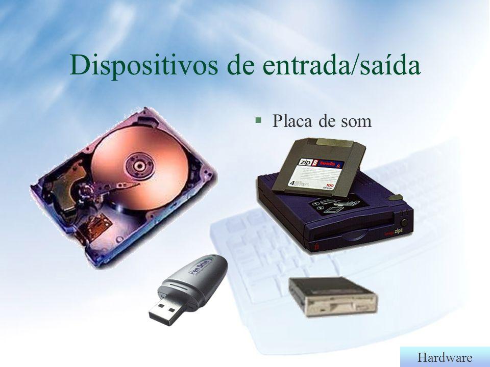 Hardware §Fax-modem§NE2000 Dispositivos de entrada/saída