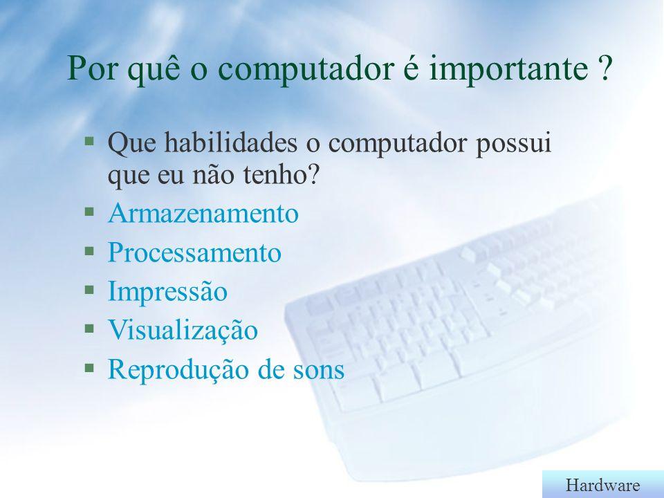 Hardware Softwares - Aplicativos