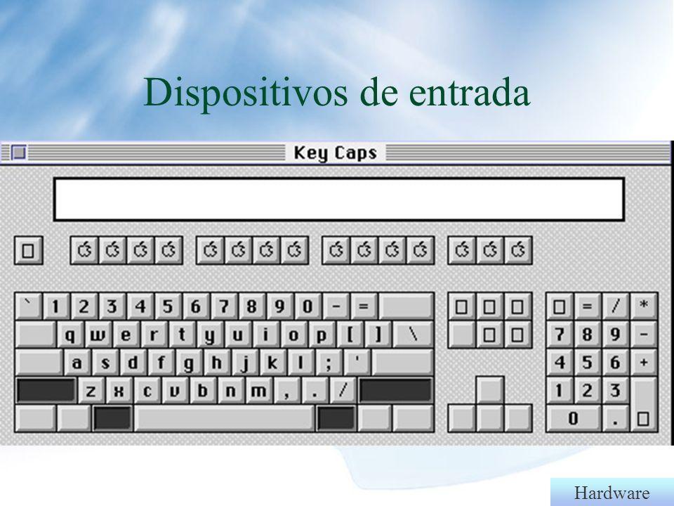 - Dispositivos de entrada - Dispositivos de saída - Entrada e saída - Unidade central de processamento - Memórias: principal e secundária