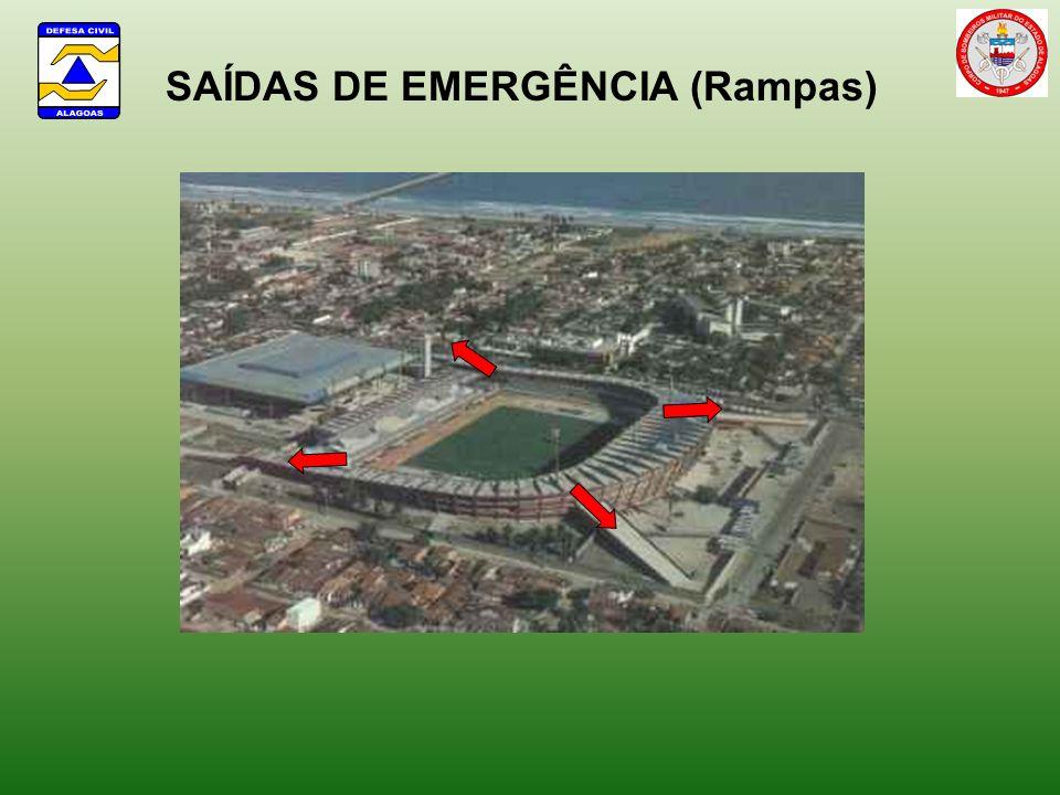 SAÍDAS DE EMERGÊNCIA (Rampas)