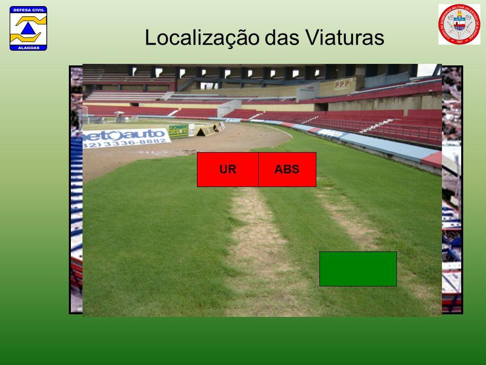 Localização das Viaturas ABS UR 1 AO ABSUR UR 2