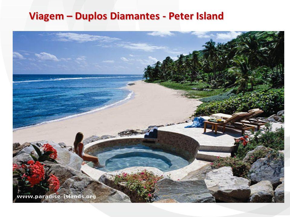 Viagem – Duplos Diamantes - Peter Island Viagem – Duplos Diamantes - Peter Island