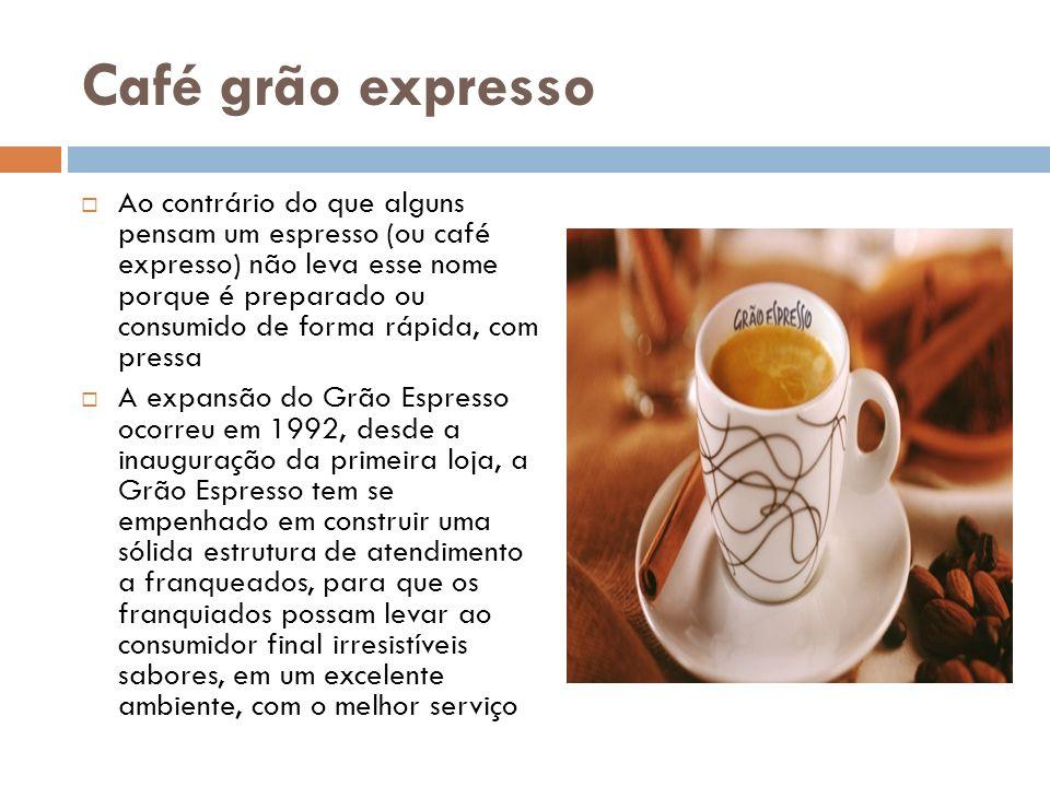 O sistema de franquias da Grão Espresso é chancelado pela ABF com o Selo de Excelência de Franchising 2010.