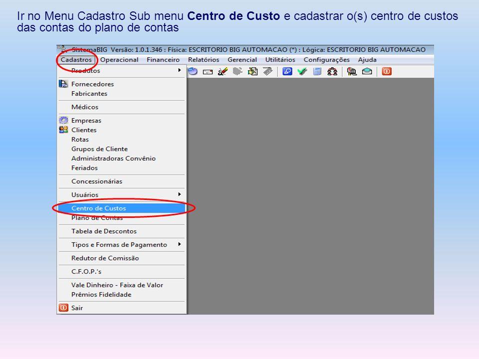 4-Lançamentos Manuais Na tela abaixo, podemos filtrar os lançamentos por: Data de Lançamento Data Cadastro