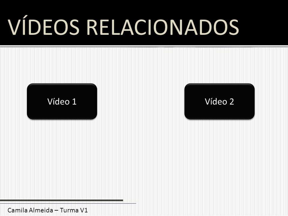 VÍDEOS RELACIONADOS Camila Almeida – Turma V1 Vídeo 1 Vídeo 2