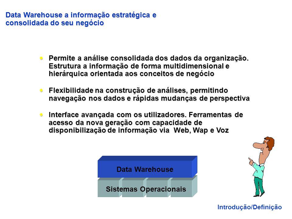 Primeiro surgiu a arquitetura, a seguir a metodologia depois (e apenas depois) surgiram as ferramentas um Data Warehouse é uma ARQUITETURA... um Data