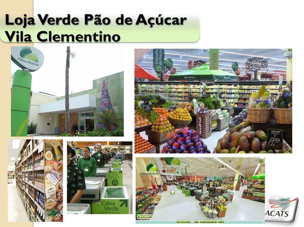 Loja Verde Pão de Açúcar Vila Clementino