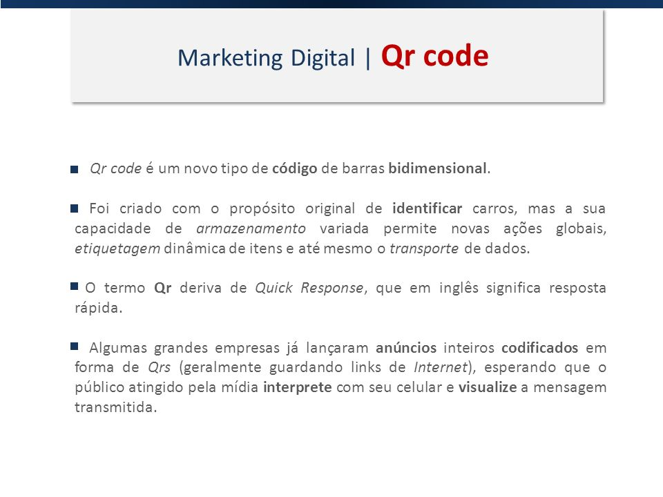 Marketing Digital | Internet A Internet muda tudo.