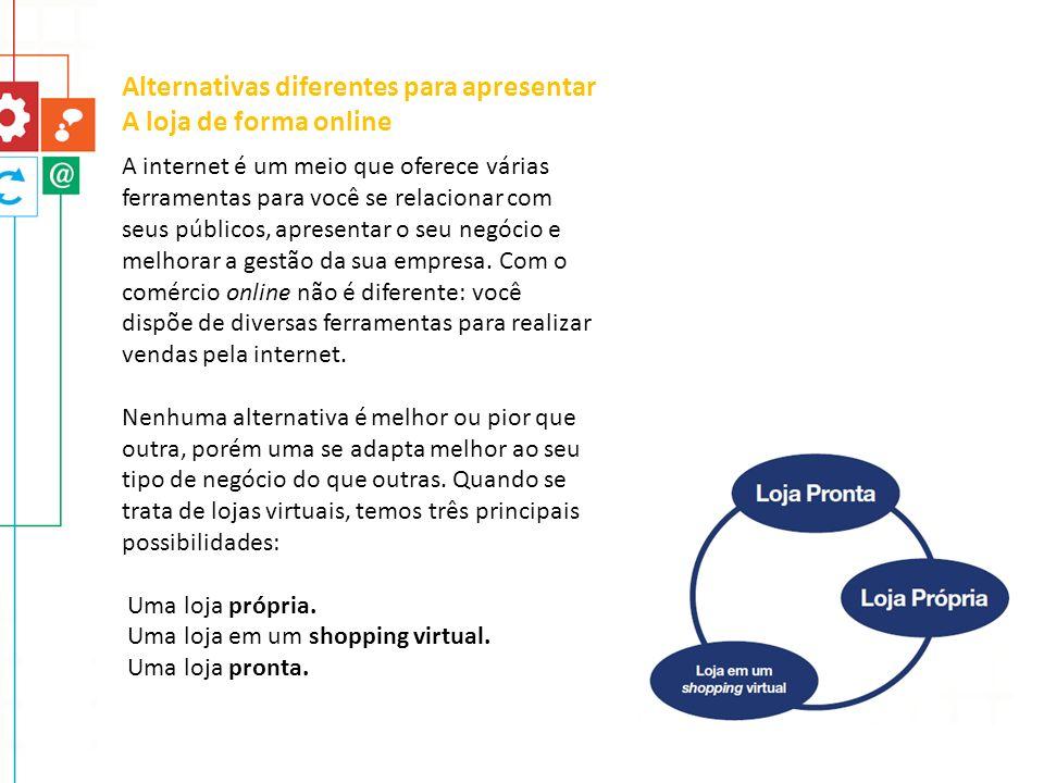 A internet é um meio que oferece várias ferramentas para você se relacionar com seus públicos, apresentar o seu negócio e melhorar a gestão da sua emp