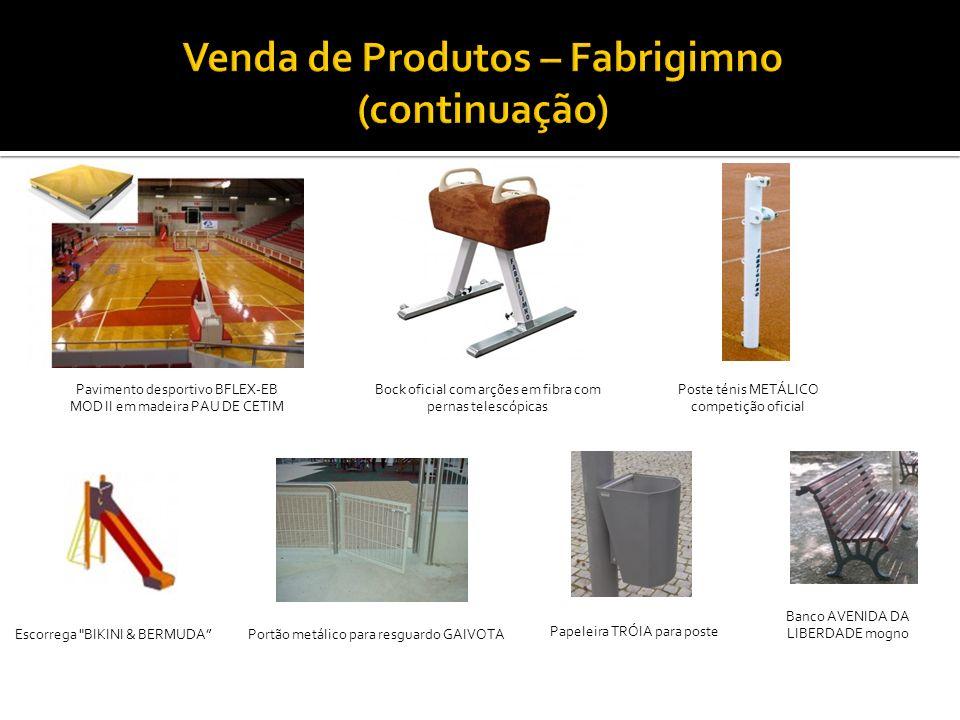 Bock oficial com arções em fibra com pernas telescópicas Pavimento desportivo BFLEX-EB MOD II em madeira PAU DE CETIM Poste ténis METÁLICO competição