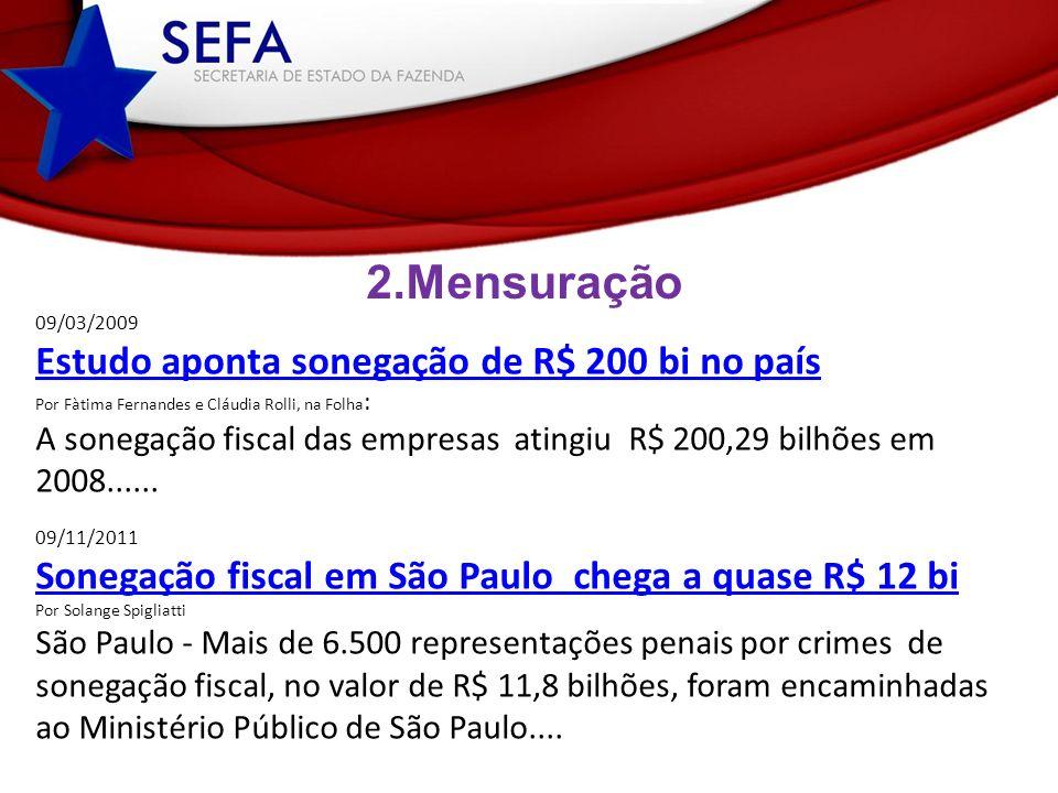 2.Mensuração Setor Econômico Porte das Empresas % Revista Veja Edição 1939.