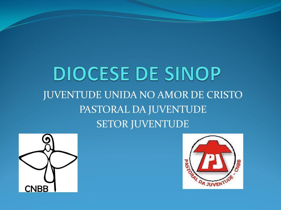 JUVENTUDE UNIDA NO AMOR DE CRISTO PASTORAL DA JUVENTUDE SETOR JUVENTUDE