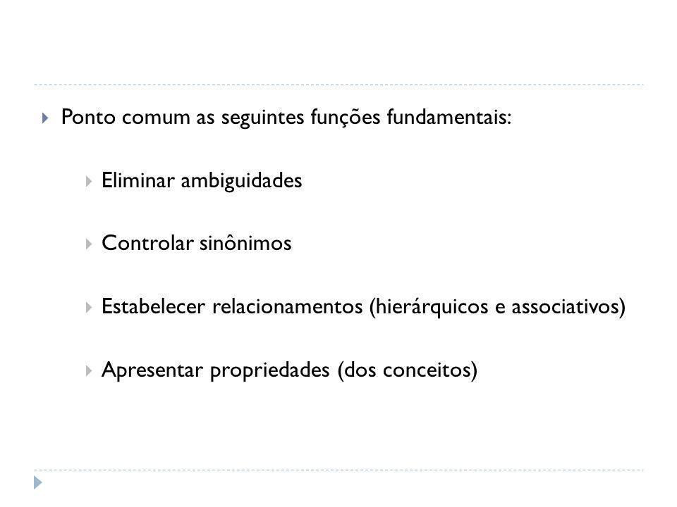 Padronização Terminológica Para as classificações e taxonomias, no entanto, não há padrão definido acerca da padronização terminológica.