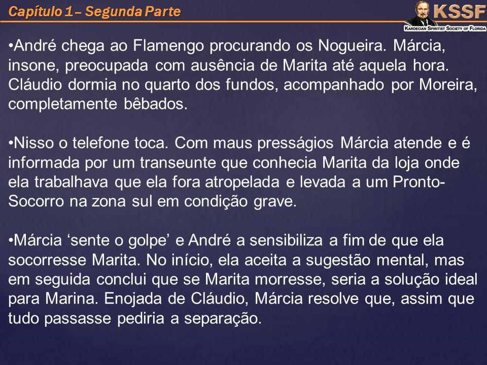 Capítulo 1– Segunda Parte André chega ao Flamengo procurando os Nogueira.