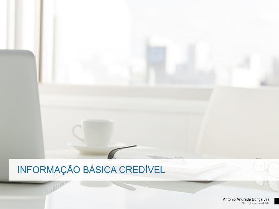 INFORMAÇÃO BÁSICA CREDÍVEL