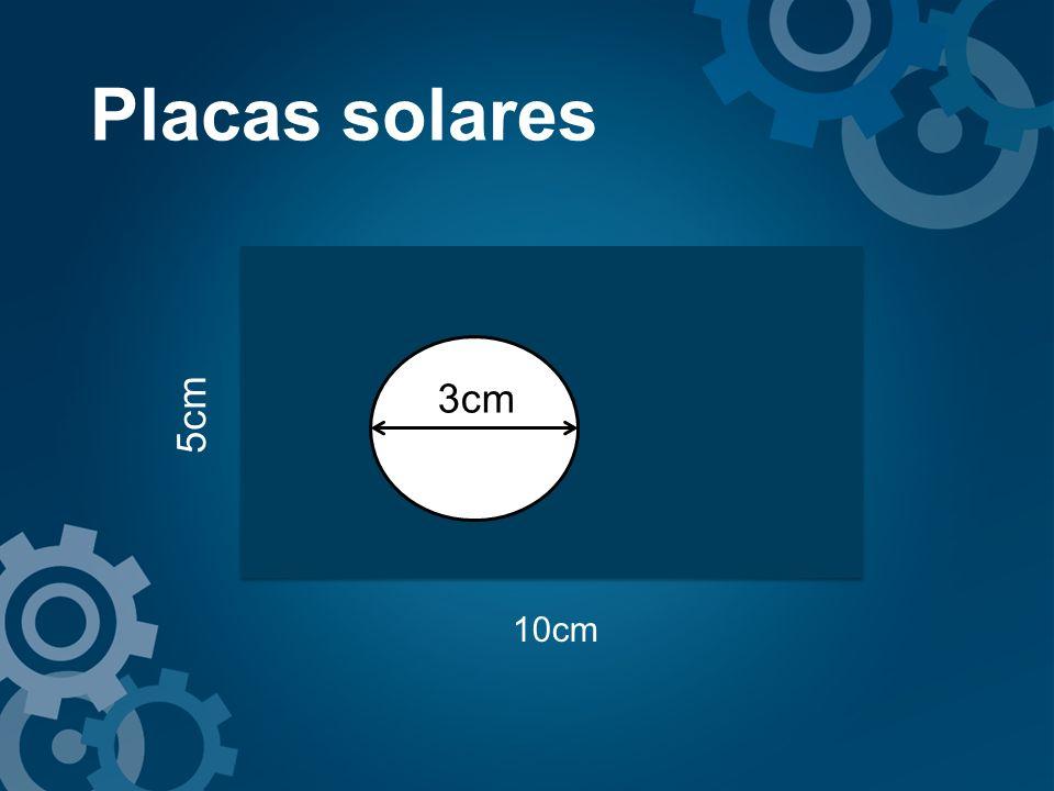 10cm 5cm 3cm Placas solares