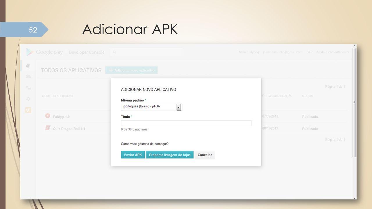 Adicionar APK 52