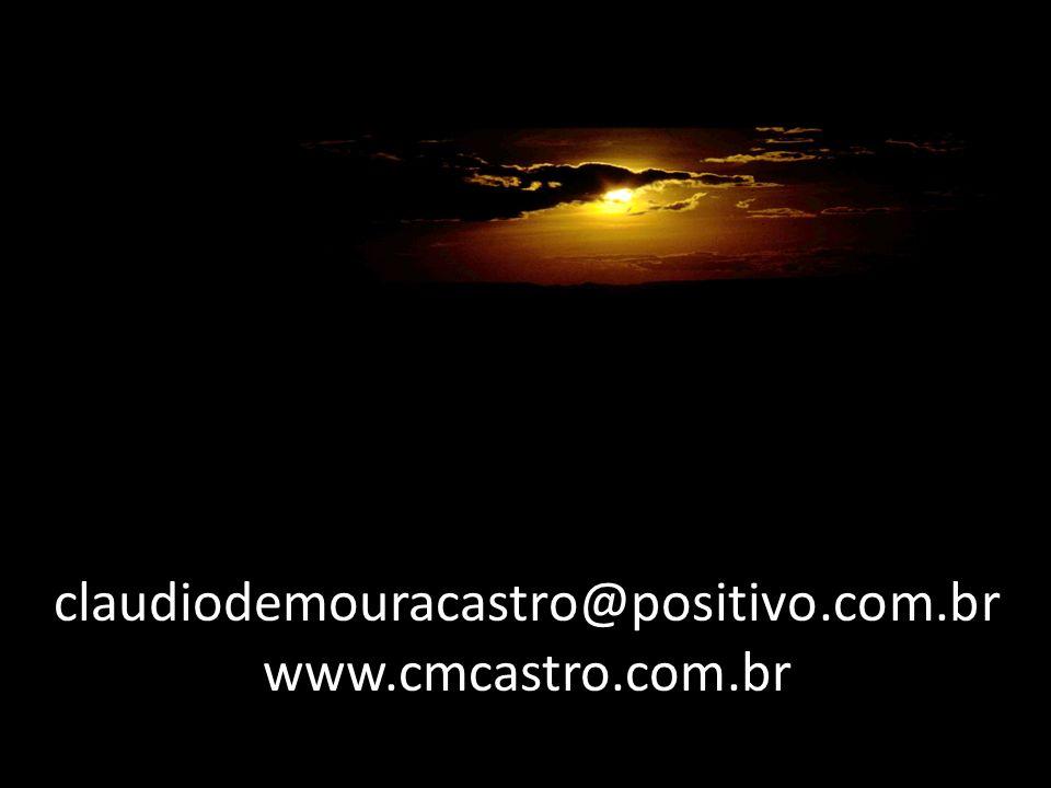 claudiodemouracastro@positivo.com.br www.cmcastro.com.br