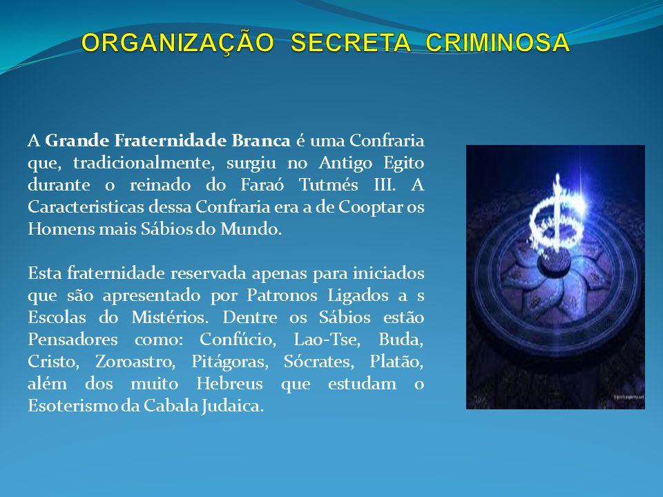 A Máfia é uma espécie de Organização Secreta Criminosa cujas Atividades estão submetidas a uma direção Colegiada Oculta e que repousa suas Ações na Es