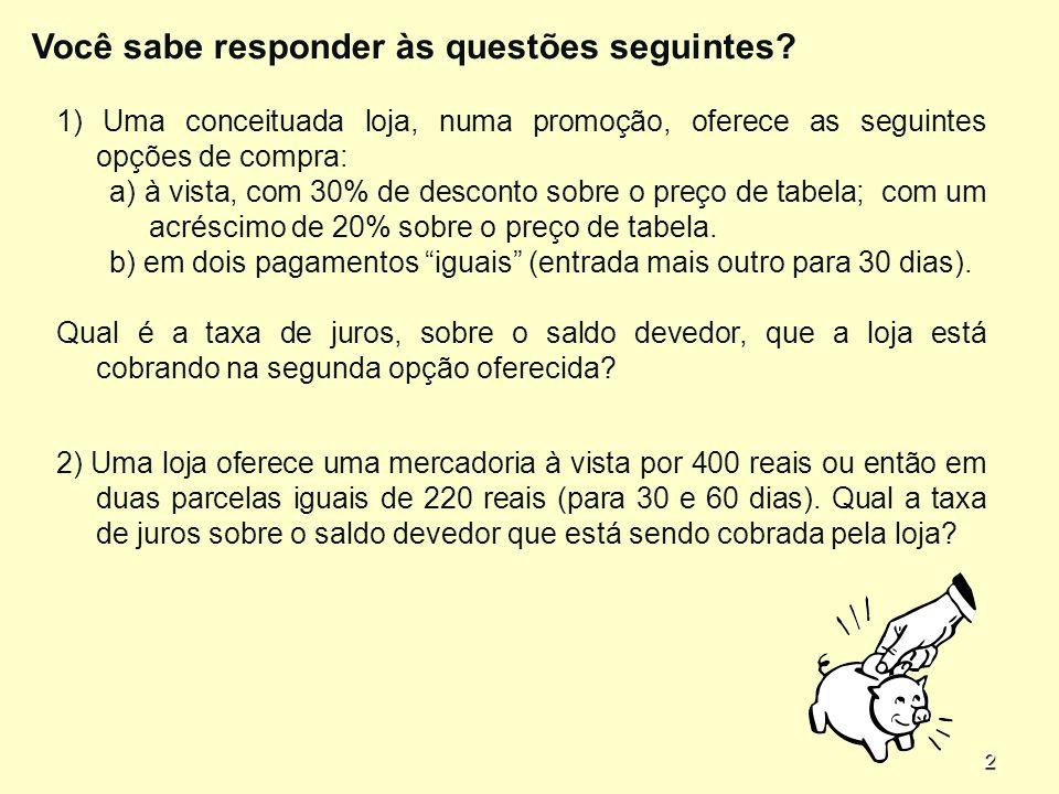 2 Você sabe responder às questões seguintes.