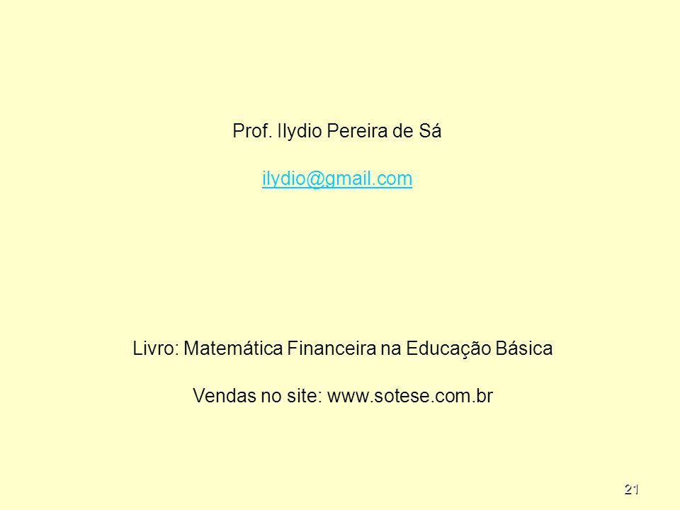 21 Prof.