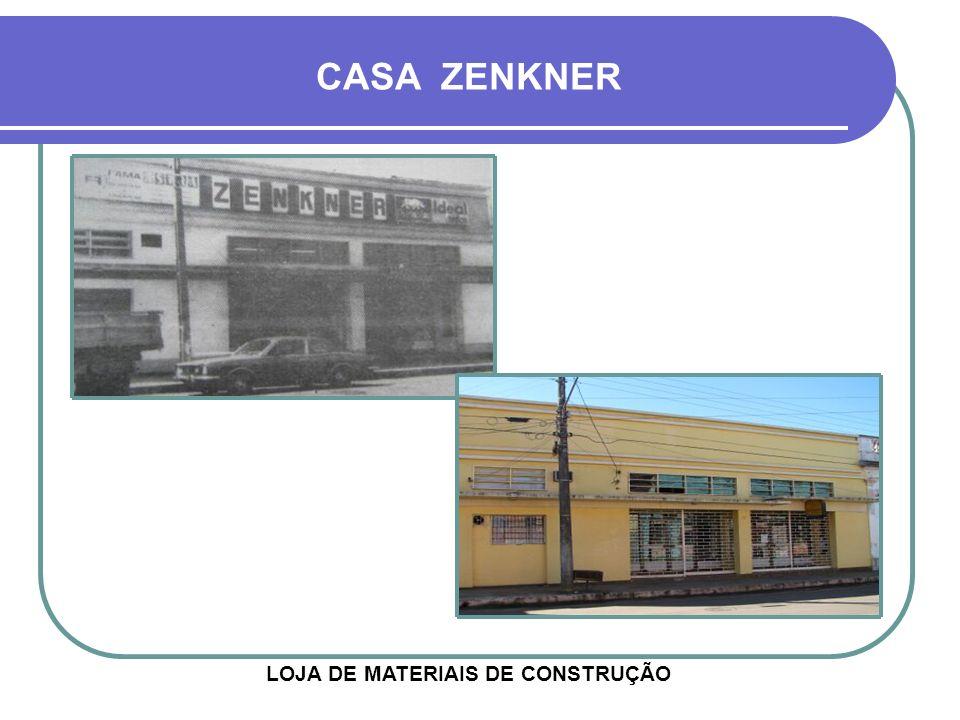 CASA ZENKNER LOJA DE MATERIAIS DE CONSTRUÇÃO