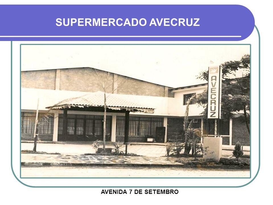 VISTA AÉREA PRÉDIO DA ANTIGA FRUTEIRA LINKE NA SETA VERMELHA SUPERMERCADO LINKE NA SETA LARANJA RUA BARÃO DO RIO BRANCO RUA ANDRADE NEVES