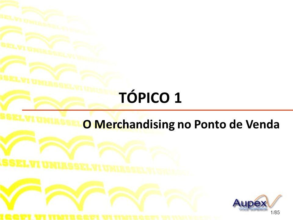 TÓPICO 1 1/85 O Merchandising no Ponto de Venda
