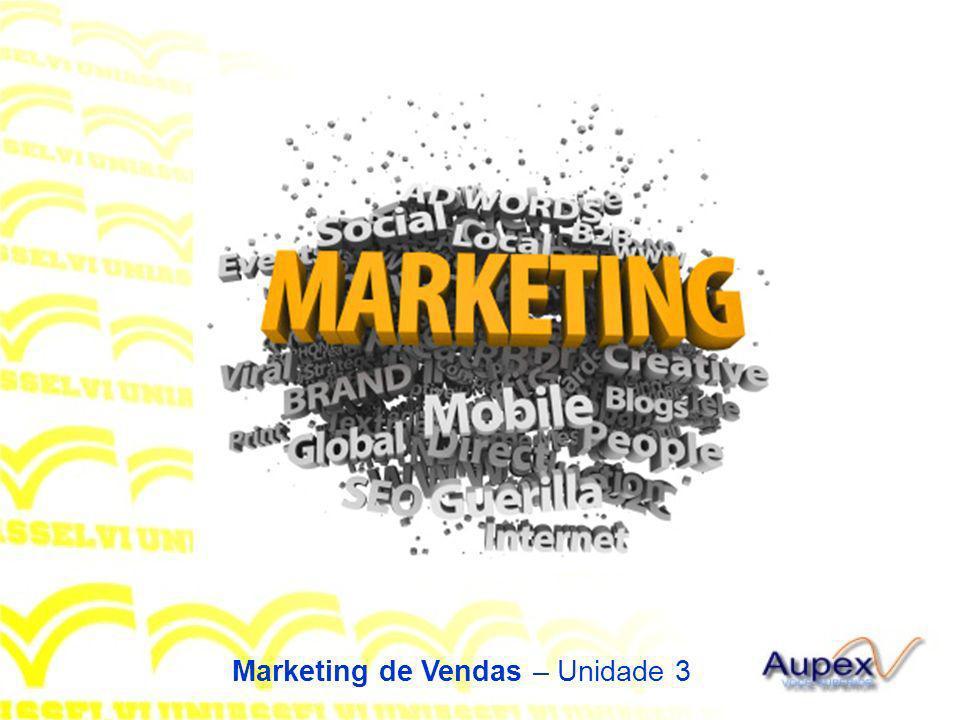 Marketing de Vendas – Unidade 3