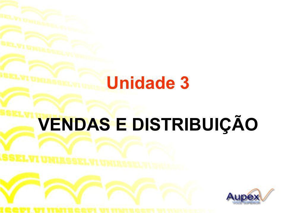 Unidade 3 VENDAS E DISTRIBUIÇÃO